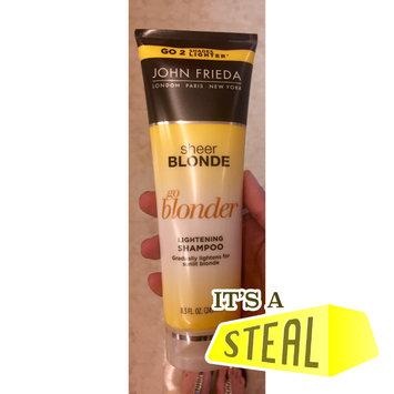 Photo of John Frieda® Sheer Blonde Go Blonder Lightening Shampoo uploaded by Liz H.