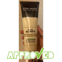 John Frieda® Sheer Blonde Highlight Activating Enhancing Shampoo for Lighter Shades uploaded by Liz H.