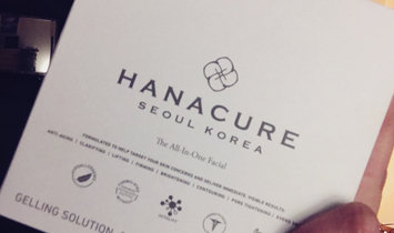 Hanacure All-In-One Facial uploaded by Erika J L.