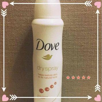 Dove Dry Spray Antiperspirant, Clear Tone Skin Renew, 3.8 oz uploaded by Faun C.