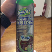 Swiffer Dust & Shine Furniture Polish Cleaner Febreze Citrus and Light Scent 9.7 Oz uploaded by Brianna P.