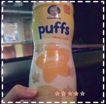 Photo of Gerber® Puffs Peach uploaded by Kristin G.