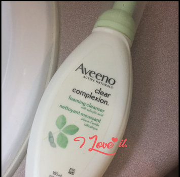 Photo of Aveeno Clear Complexion Foaming Cleanser uploaded by Alisha H.