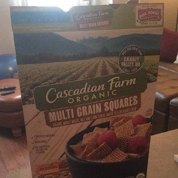 Photo of Cascadian Farm Organic Multi Grain Squares Cereal uploaded by Tara N.