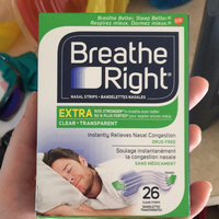Breathe Right® Extra Clear Nasal Strips uploaded by Katelyn A.