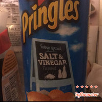 Pringles® Salt & Vinegar Potato Crisps uploaded by Monique C.