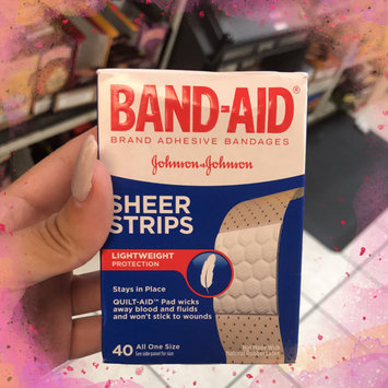Photo of Band-Aid Sheer Strips Bandages - 40 CT uploaded by Glory M.