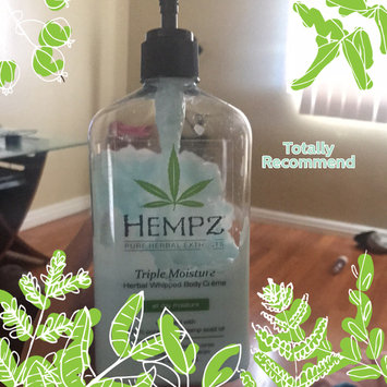Hempz Triple Moisture Herbal Whipped Body Crème, 17 Fluid Ounce uploaded by Silvie P.
