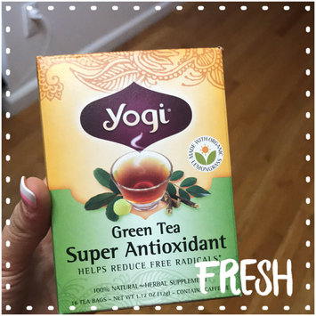 Photo of Yogi Tea Green Tea Super Antioxidant uploaded by Leidy Z.