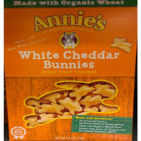 Annie's® Homegrown White Cheddar Bunnies Baked Snack Crackers uploaded by Aisha H.