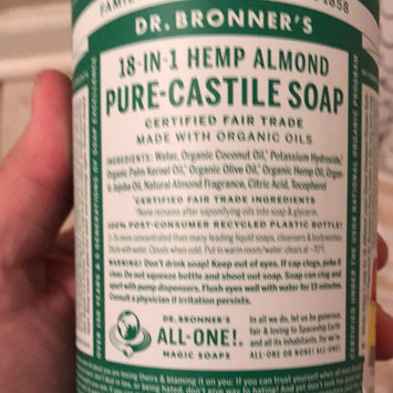 Photo of Dr. Bronner's 18-in-1 Hemp Almond Pure Castile Soap uploaded by Greg W.