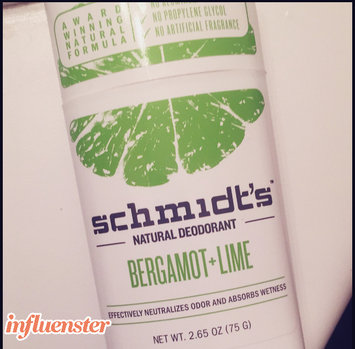 Photo of Schmidt's Bergamot + Lime Natural Deodorant uploaded by Whenyousayitlikethat S.