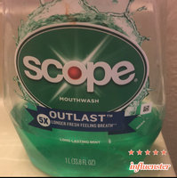 Scope Long Lasting Mint Mouthwash - 33.8 oz uploaded by Monique C.