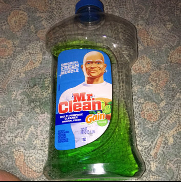 Mr Clean with Gain Original Fresh Scent Multi Surface Liquid 40 Fl Oz uploaded by Jill R.