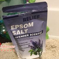 Relief MD Epsom Salt Lavender - Calming & Relaxing Soak, 16 oz,(Blue Cross Laboraties) 12 PACK uploaded by Toya A.