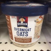 Quaker® Overnight Oats Toasted Coconut & Almond Crunch uploaded by Ashley T.
