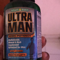 Tures Bounty For Men Nature's Bounty Ultra Man Multivitamin, Tablets 50 ea uploaded by Maneisha C.