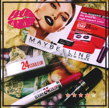 Maybelline SuperStay 24® Liquid Lipstick uploaded by Jennifer H.
