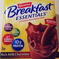 Carnation Breakfast Essentials Rich Milk Chocolate uploaded by Crystal G.