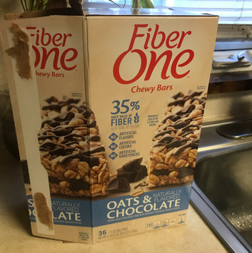 Fiber One Oats & Chocolate Chewy Bars uploaded by Tina F.