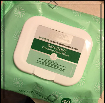 Photo of Equate sensitive skin facial wipes uploaded by Karen J.