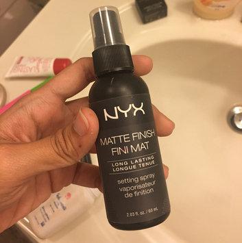 NYX Cosmetics Makeup Setting Spray - Matte Finish uploaded by Azaiza o.