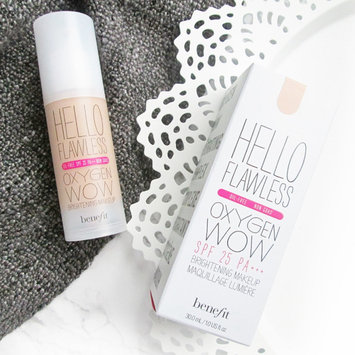 Benefit Cosmetics 'Hello Flawless!' Oxygen Wow Liquid Foundation 'Cheers To Me' Champagne 1 oz uploaded by Alice W.
