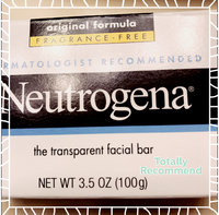 Neutrogena® Fragrance Free Facial Cleansing Bar uploaded by Teresa C.