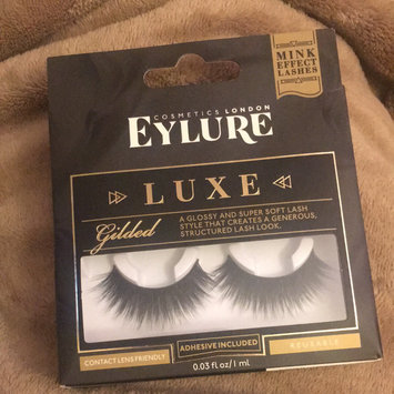 Photo of Eylure Luxe Faux Mink Gilded Lashes uploaded by Andrett P.