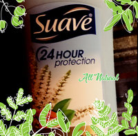 Suave 24 Hour Protection Almond Verbena Invisible Solid Deodorant, 2.6 fl oz uploaded by Teresa C.