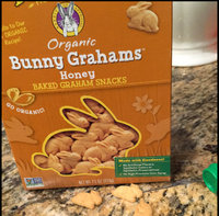 Annie's Homegrown® Bunny Grahams® Honey Whole Grain Graham Snacks uploaded by L E.