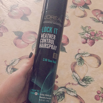 Photo of L'Oréal Paris Advanced Hairstyle LOCK IT Weather Control Hairspray uploaded by Yelaidy S.