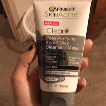Garnier® SkinActive™ Clean+ Pore Purifying 2-in-1 Clay Cleanser/Mask for Oily Skin 5 fl. oz. Tube uploaded by Heather E.