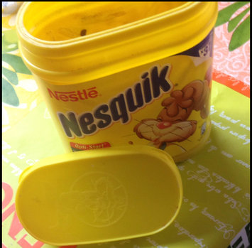 Photo uploaded to Nesquik® Chocolate Ready-to-Drink Fat Free Milk by Ginny J.