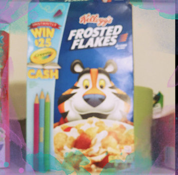 Photo of Kellogg's Frosted Flakes Cereal uploaded by Cynthia R.