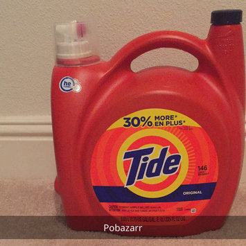 Photo of Tide Original Scent HE Turbo Clean Liquid Laundry Detergent uploaded by Poba Z.
