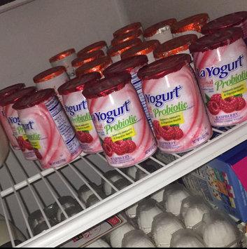 La Yogurt Probiotic Pomegranate Blueberry Blended Lowfat Yogurt Original 6 Oz Cup uploaded by Melody C.