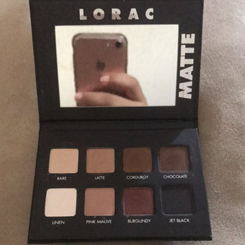 Photo of LORAC PRO Matte Eye Shadow Palette (Chocolate/Red/Latte) uploaded by nely m.