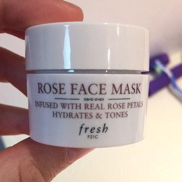 Fresh Rose Face Mask uploaded by Erin W.
