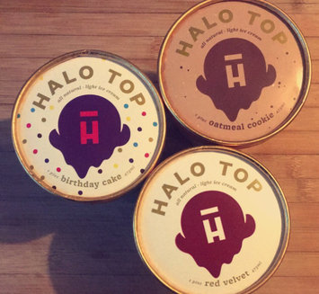 Photo of Halo Top Birthday Cake Ice Cream uploaded by Erin W.