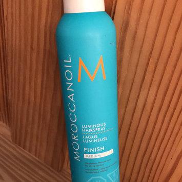 Photo of Moroccanoil® Luminous Hairspray Medium uploaded by Honor F.