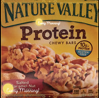 Nature Valley™ Protein Chewy Bars Salted Caramel Nut uploaded by Teresa C.