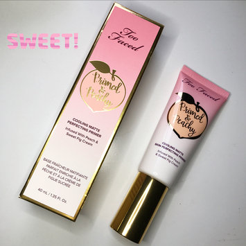 Photo of Too Faced Primed & Peachy Cooling Matte Perfecting Primer uploaded by Cierra D.