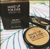 MAKE UP FOR EVER Duo Mat Powder Foundation uploaded by Christine R.