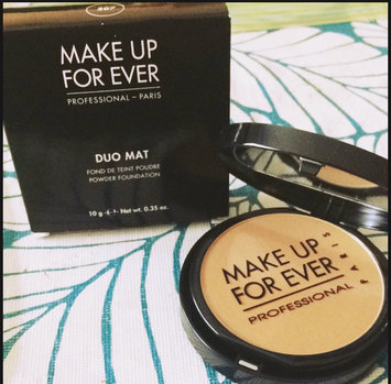 Photo of MAKE UP FOR EVER Duo Mat Powder Foundation uploaded by Christine R.