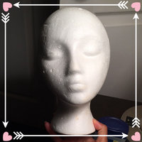 Hollywood Star MANNEQUIN HEAD Case Pack of 1 Giell Styrofoam Foam Mannequin Wig Head Display Hat Cap uploaded by Christine M.