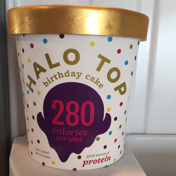Photo of Halo Top Birthday Cake Ice Cream uploaded by Stephanie L.