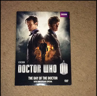 Doctor Who: The Day Of The Doctor (DVD) uploaded by Bridgett B.