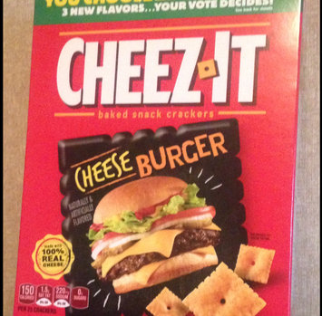 Cheez-It® Original Baked Snack Crackers uploaded by Jay S.