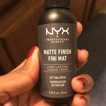 NYX Cosmetics Makeup Setting Spray - Matte Finish uploaded by Kris R.